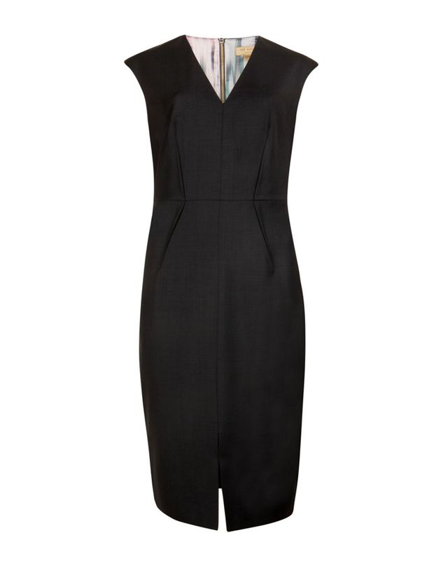 Ted Baker Didad Wool Suit Dress