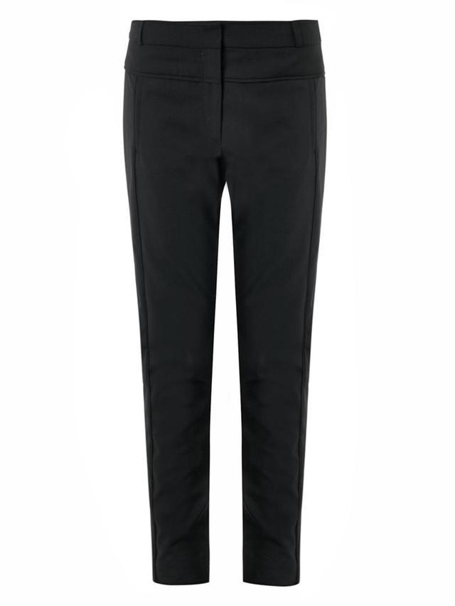 Veronica Beard High-Rise Skinny-Leg Trousers