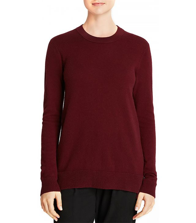 Vince Overlay Crew Cashmere