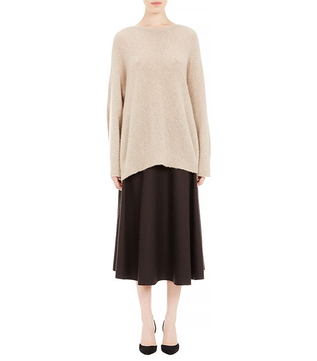 The Row Bell-Sleeve Oversize Kerr Sweater