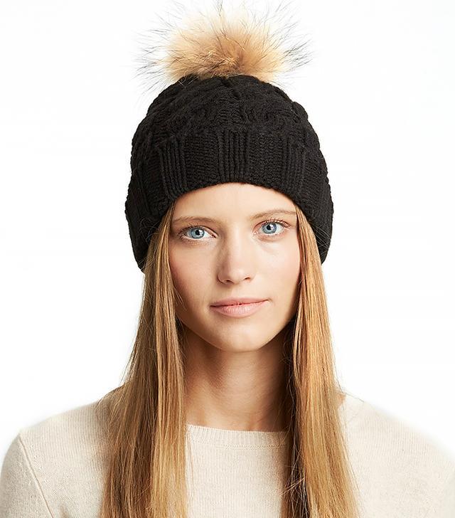 Fraas Fur Pom-Pom Hat