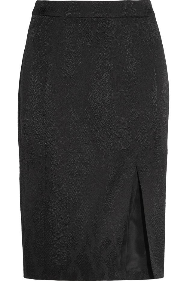 Altuzarra for Target Python-Jacquard Pencil Skirt
