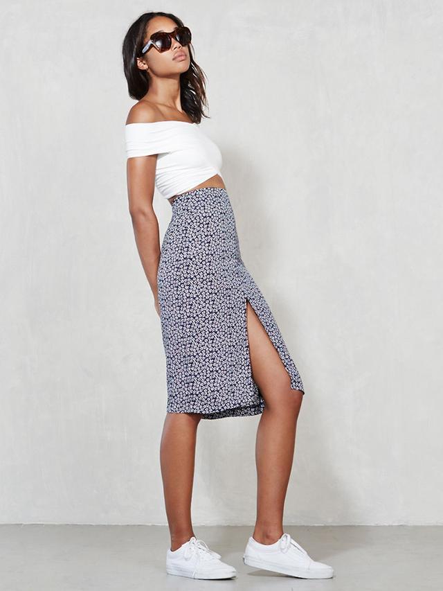 The Reformation Clove Skirt