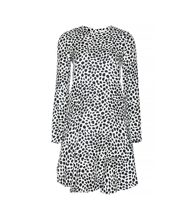 Chloe Printed Silk Dress