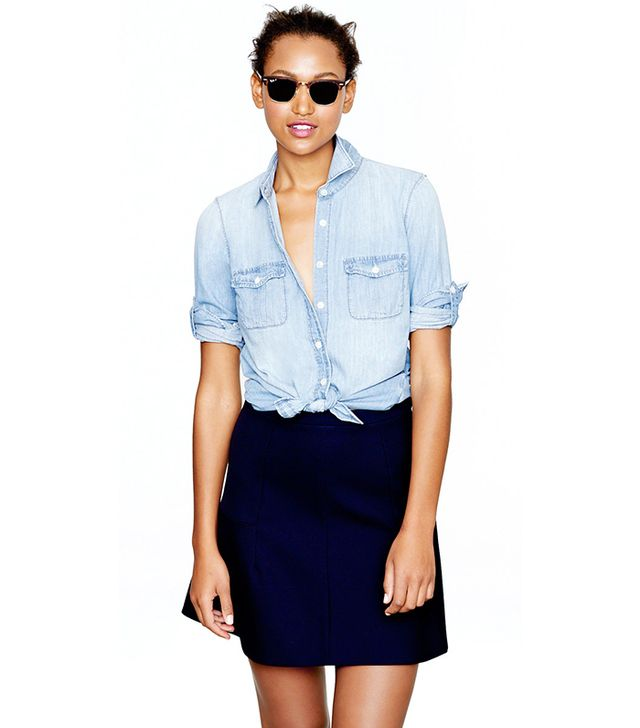 J. Crew Keeper Chambray Shirt