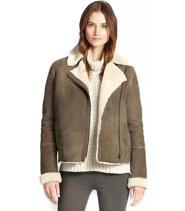 Vince Lamb Shearling Jacket