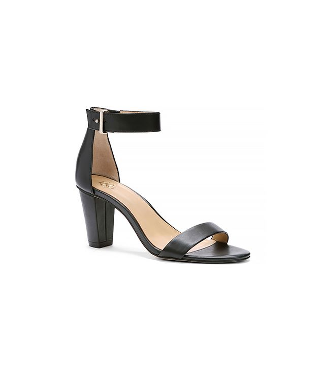 Ann Taylor Rayleigh Leather Ankle Strap Sandals
