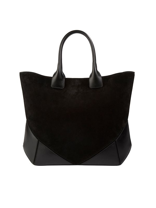 Givenchy Easy Black Suede Tote