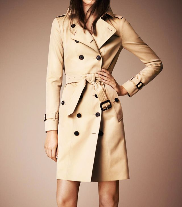 Burberry Prorsum The Sandringhan Long Heritage Trench Coat