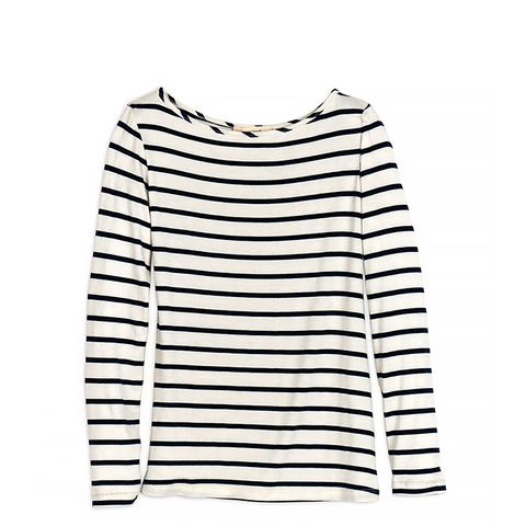 Francoise Striped Long Sleeve Tee
