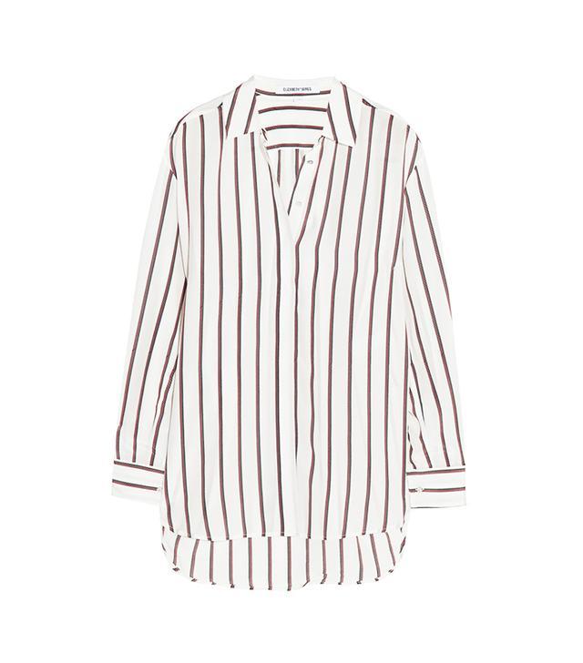 Elizabeth and James Sade Striped Silk Shirt