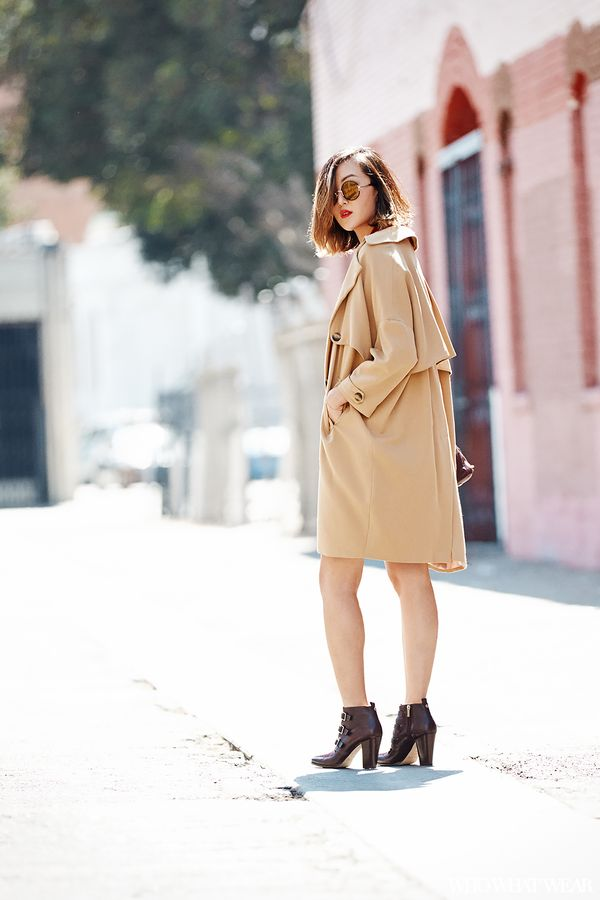 "Inspired by the likes of Jane Birkin and Audrey Hepburn, Lim understands the power of timeless fashion. ""I believe that all woman should invest in a nice trench coat for fall,"" she..."