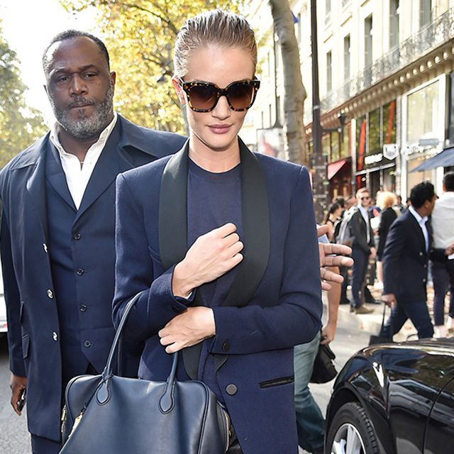 As You Expect: Rosie Huntington-Whiteley Looks Amazing at Paris Fashion Week