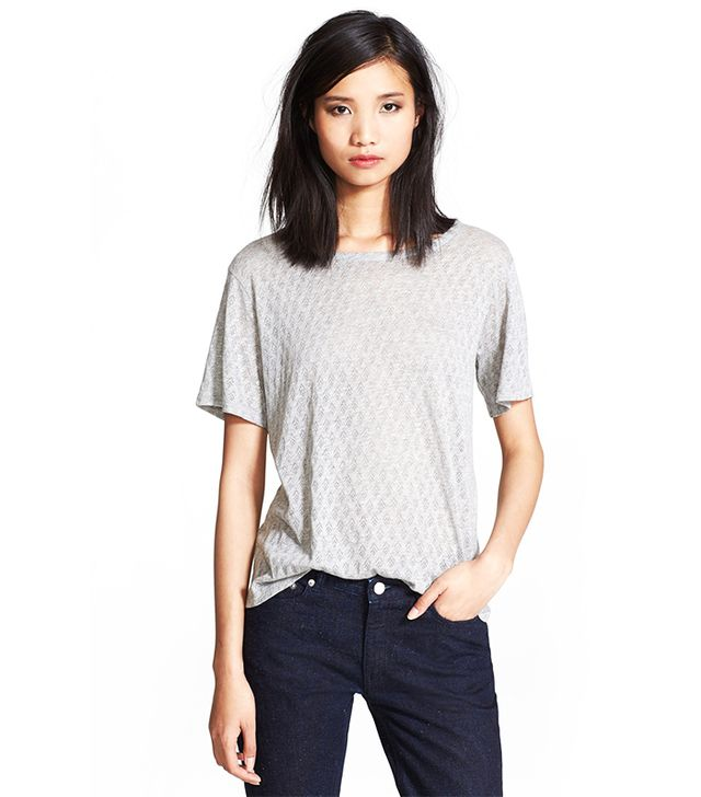 A.P.C. Pointelle Jersey Knit Top