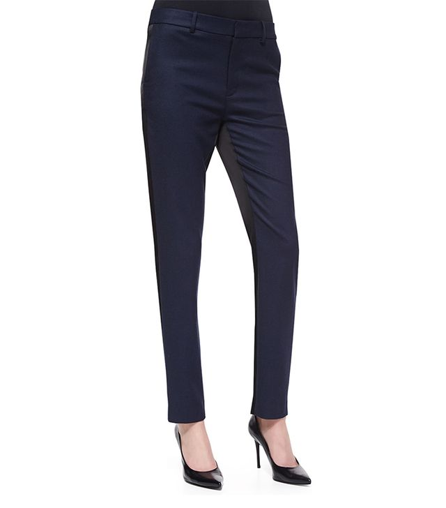J Brand Bergen Two-Tone Slim Pants