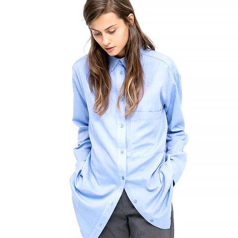 Twill Oversized Shirt