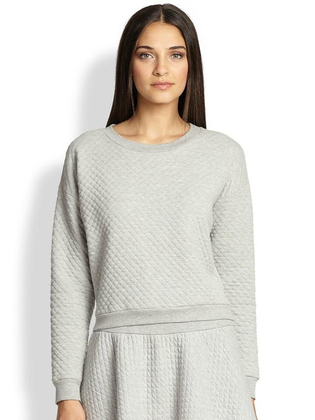 Soft Joie Phoenix Quilted Jersey Sweatshirt