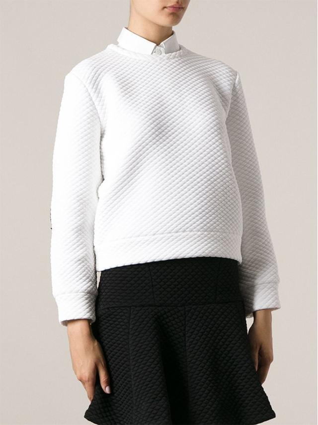 No21 Quilted Sweatshirt ($