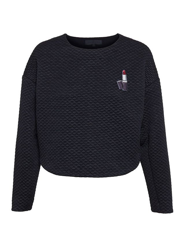 American Retro Quilted Joseph Sweater