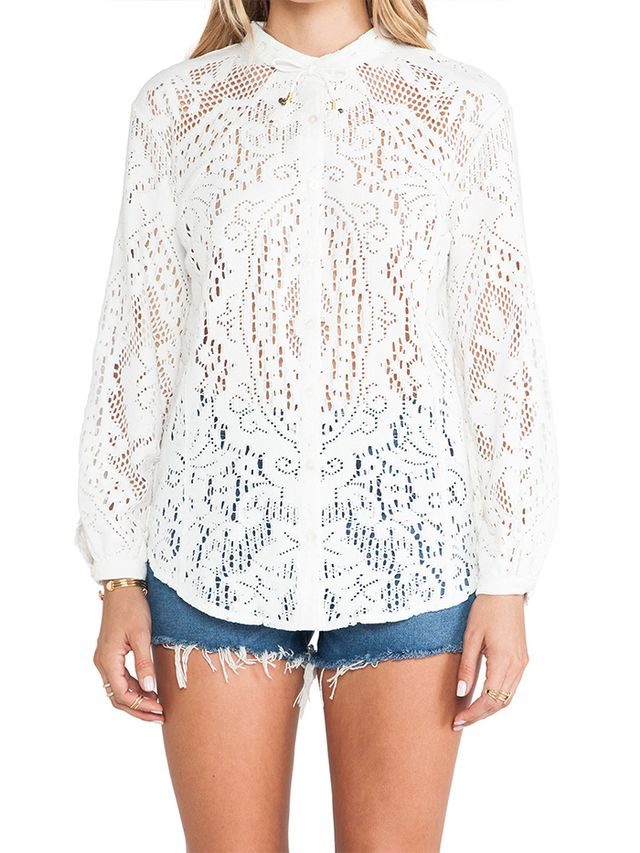 Spell & The Gypsy Collective White Dove Lace Blouse