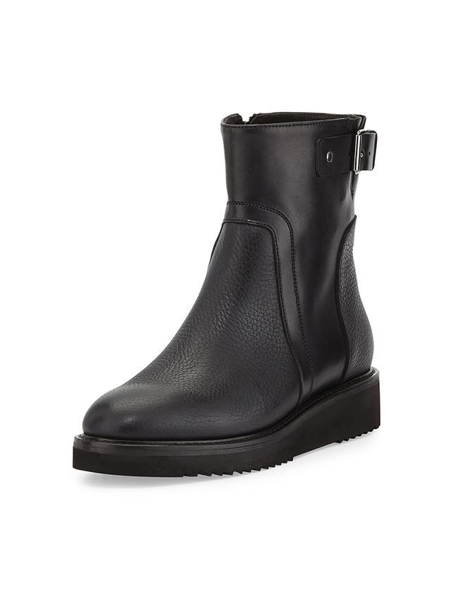 Vince Leather Reid Short Boots
