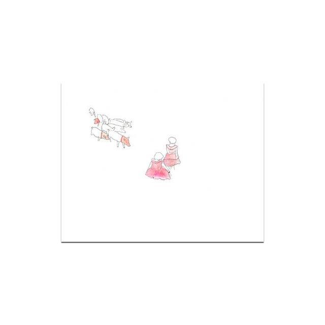 Little Paper Planes Pigs Print