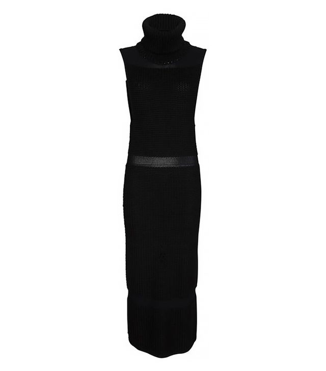 Helmut Lang Exclusive Textured Inlay Sweater Dress