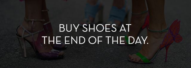 Your foot expands slightly throughout the day, especially in the summer, so if possible try to shop for shoes toward the end of the day. If you buy shoes in the morning when your foot is at its...