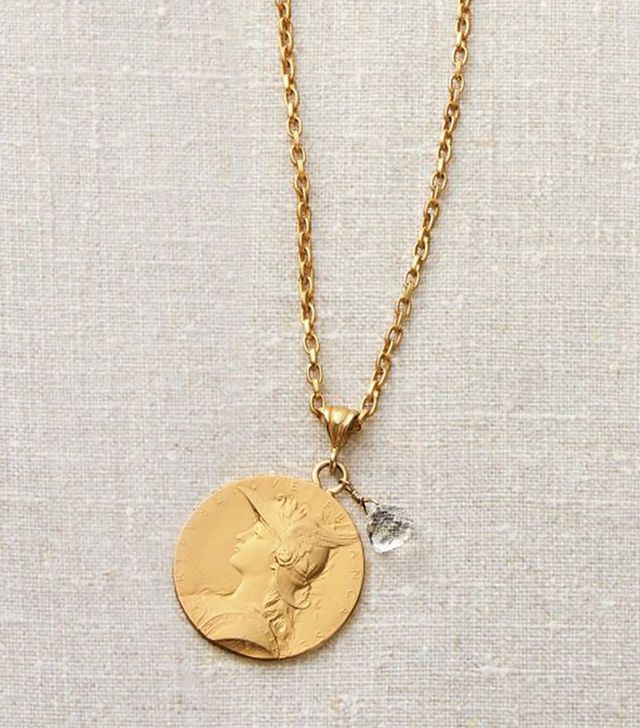 Pendleton French Coin Necklace