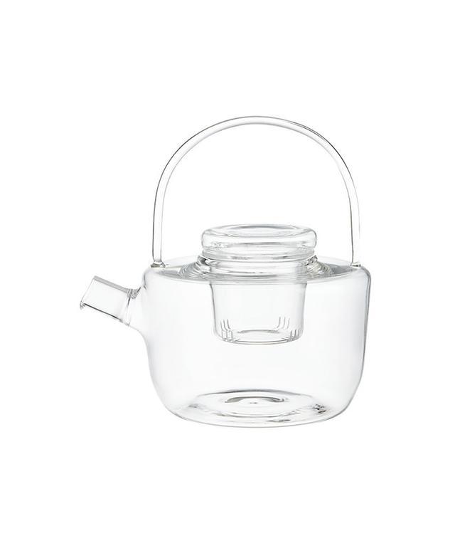 CB2 Betty Glass Teapot