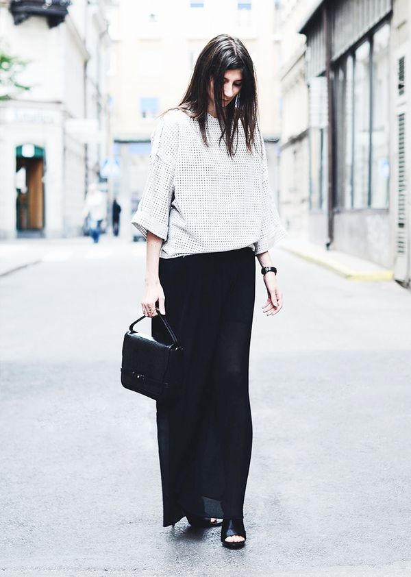 Boxy Top + Maxi Skirt