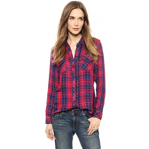Kendra Long Sleeve Button Down Shirt