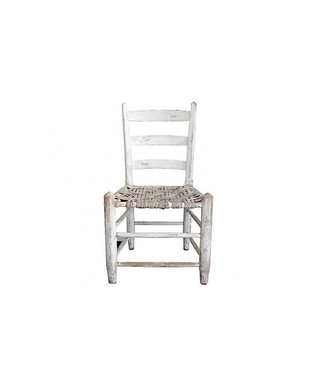 Second Shout Out White Hickory Chair