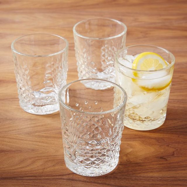 West Elm Carat Glassware
