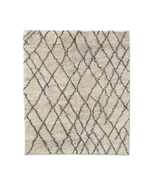 Restoration Hardware Noura Moroccan High-Pile Wool Rug
