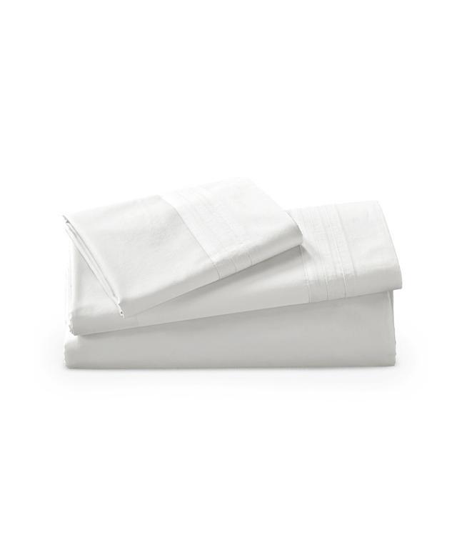 Donna Karan Collection White Flat Sheet