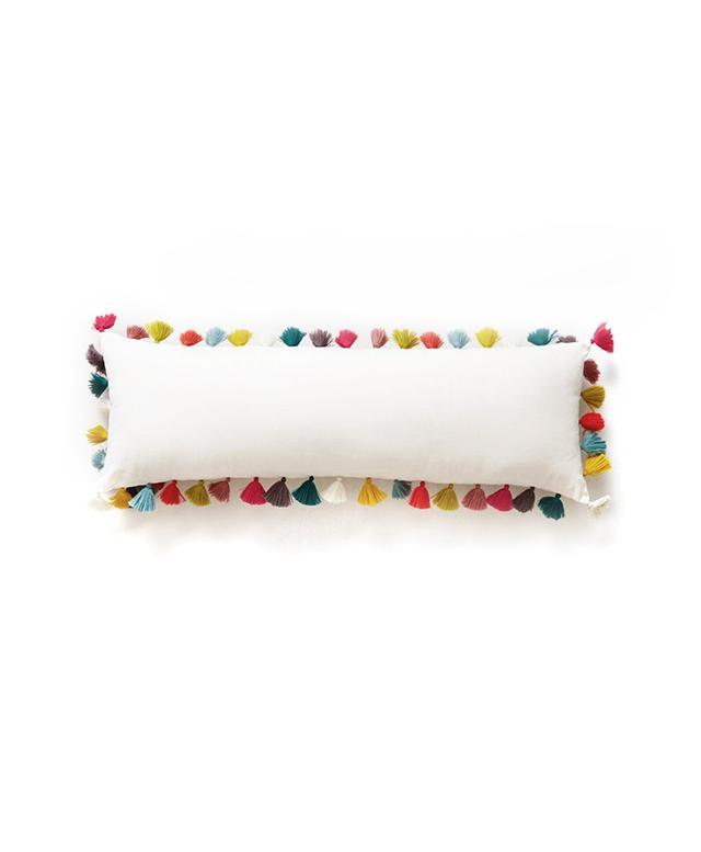 Anthropologie Firenze Velvet Tassel Pillow