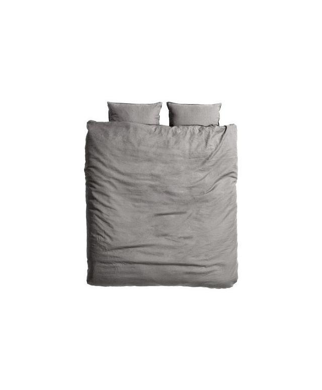 H&M Home King/Queen Linen Duvet Set