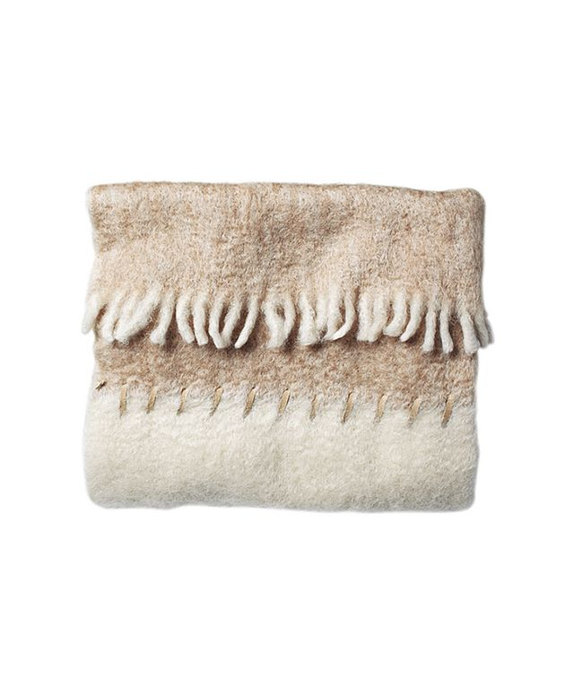 Serena & Lily Whipstitch Mohair Throw
