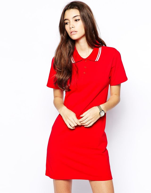 Daisy Street Polo T-Shirt Dress