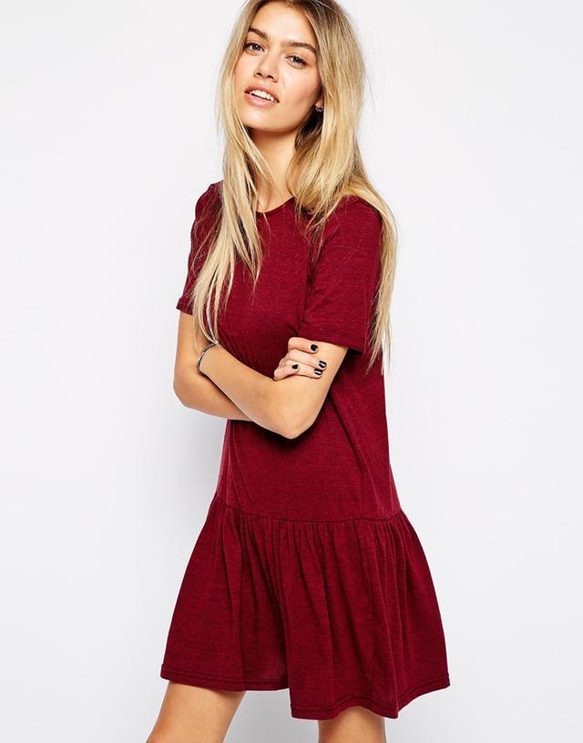 Glamorous Jersey Drop Hem Dress
