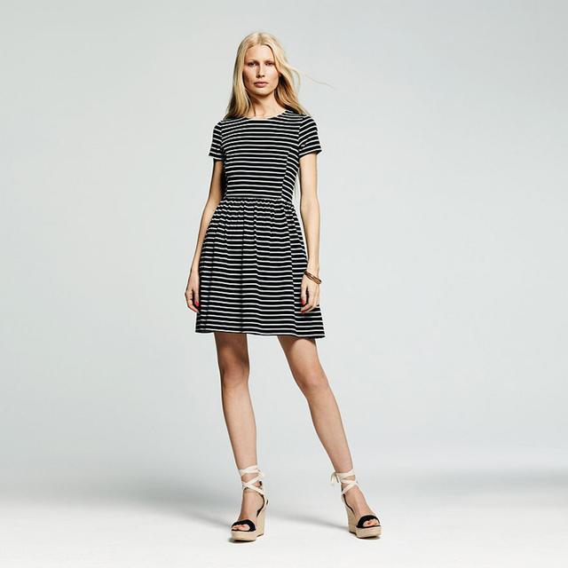 Peter Som for DesigNation Striped Fit & Flare Dress