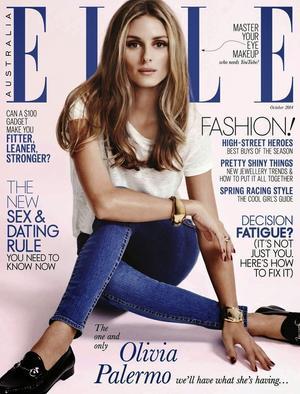 Olivia Palermo Covers Elle Australia