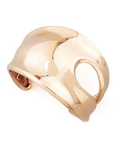 Robert Lee Morris Robert Lee Morris Cutout Rose Gold Cuff Bracelet