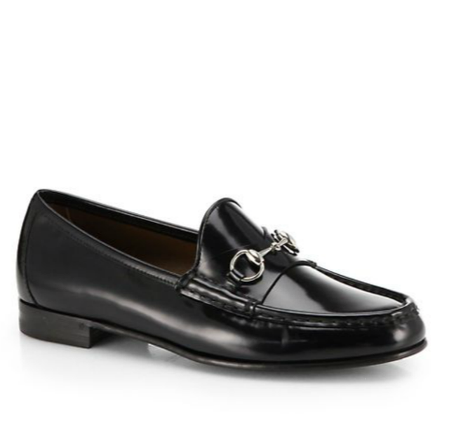 Gucci Gucci Regent Leather Frame Driving Loafers