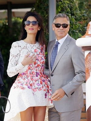 The Most Stylish Moments From George Clooney's Wedding Weekend in Venice