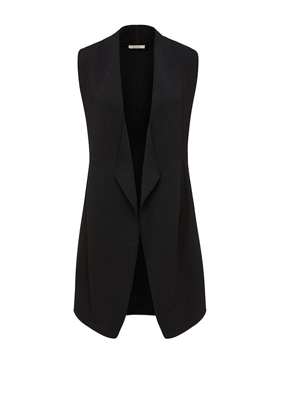 Thurley Knit Tuxedo Vest
