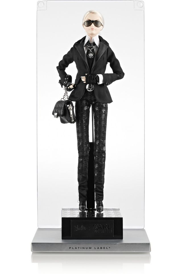 Net-a-Porter Sold Out of the Karl Lagerfeld Barbies in Hours