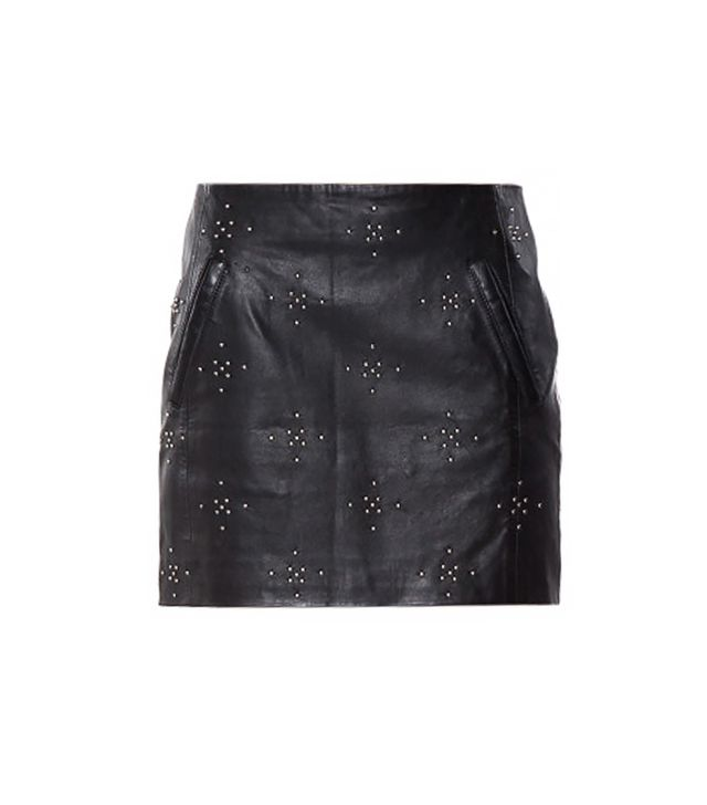 Anine Bing Anine Bing Studded Leather Skirt