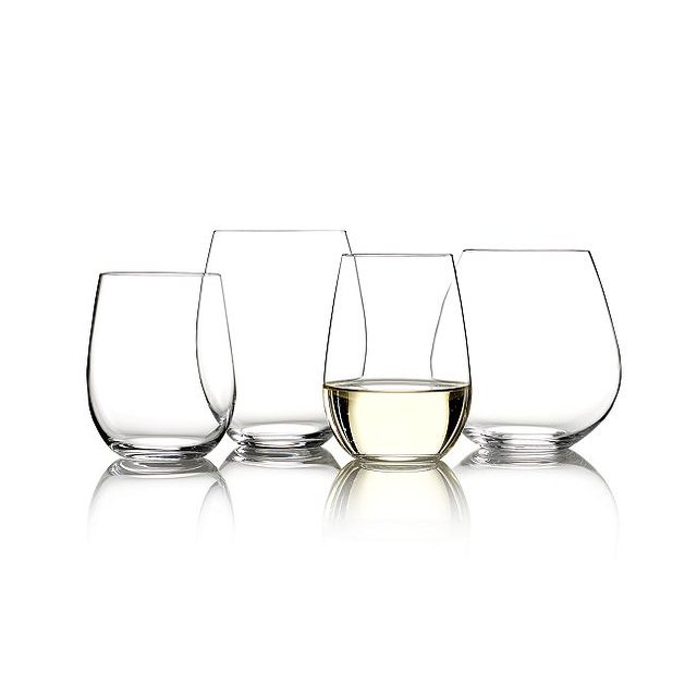 Reidel Cabernet and Chardonnay Stemless Wine Glass Set